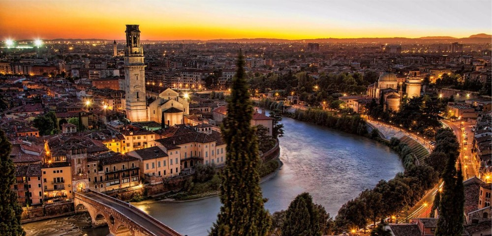 Como perder 1000 calorias num passeio romântico em Verona?